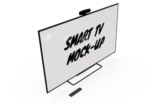 Smart tv mock-up izolowany