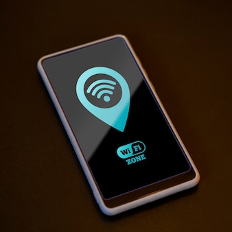 Smartfon o wysokiej widoczności z łącznością 5 g