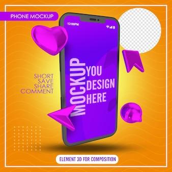 Smartfon z zapisywaniem komentarzy i udostępnianiem ikon