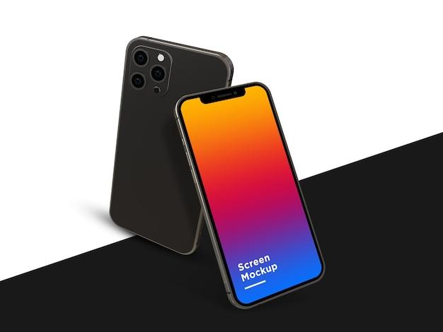 Smartphone 12 pro makieta psd