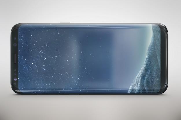 Smartphone wyśmiewa widok z przodu