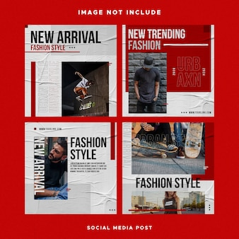 Socail media post design instagram