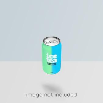 Soda może makieta psd