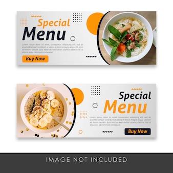 Specjalne banery menu