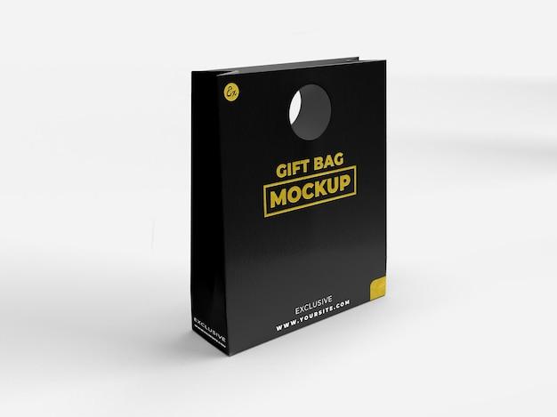 Specjalny prezent realistyczna teksturowana torba do brandingu i makiety ekspozycyjnej