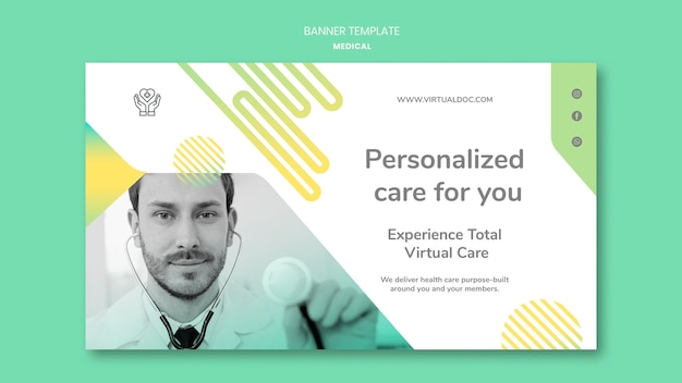 Spersonalizowany szablon transparentu opieki