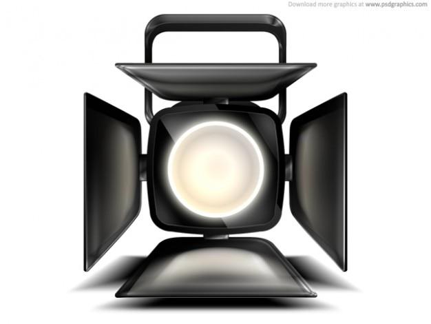 Spotlight faza ikona (psd)