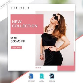 Sprzedaż mody w mediach społecznościowych