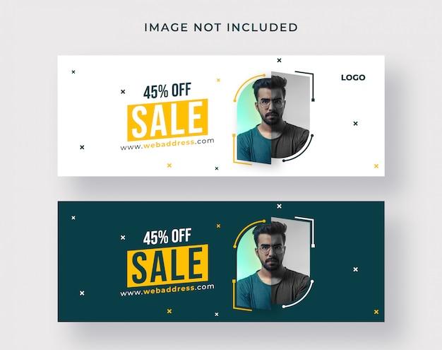 Sprzedaż okładki na facebooku lub projektowanie banerów internetowych
