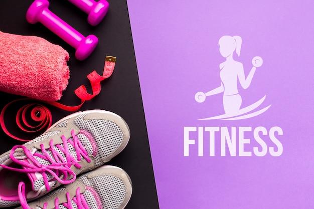 Sprzęt sportowy klasy fitness