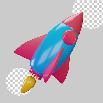 Startup koncepcja biznesowa ilustracja 3d