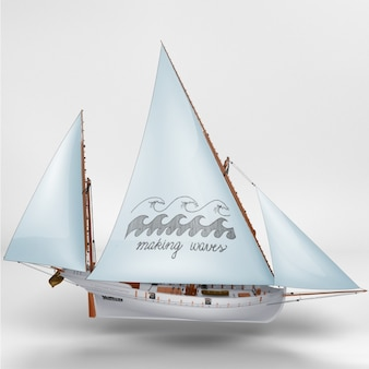 Statek makiety projektowe