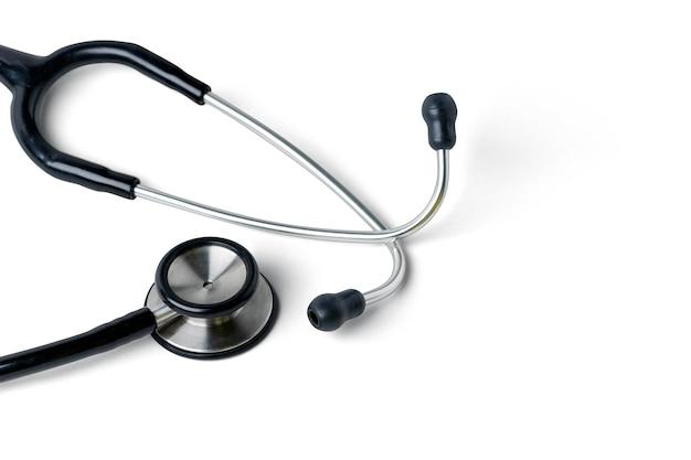 Stetoskop medyczny na białym tle