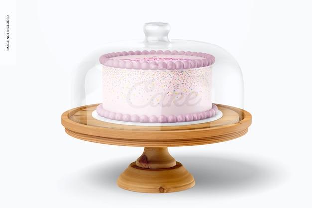 Stojak na ciasto z makietą kopuły
