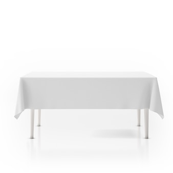 Stół z obrusem