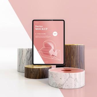 Streszczenie kamień i tablet
