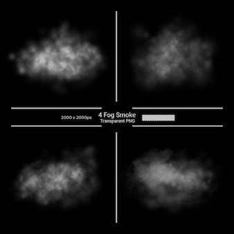 Streszczenie wirująca biała mgła premium psd