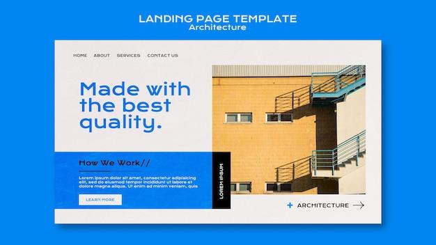 Strona docelowa architektury