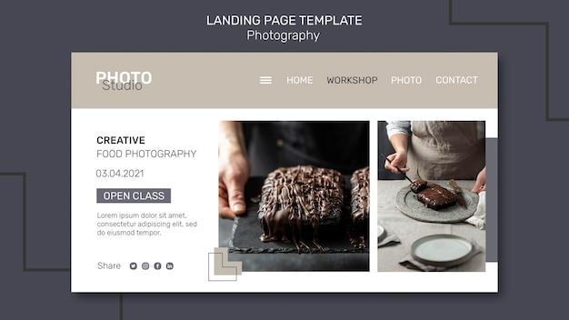 Strona docelowa fotografii