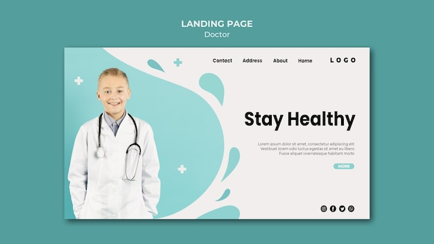 Strona docelowa lekarza