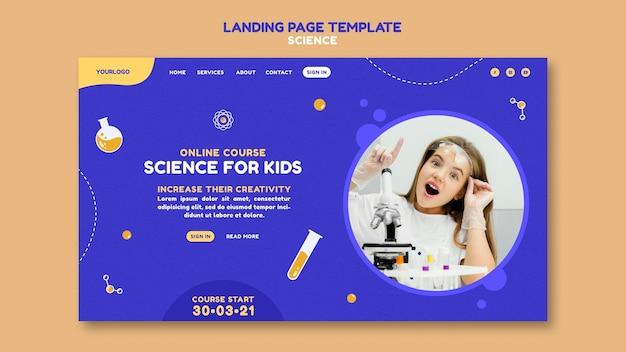 Strona docelowa nauki