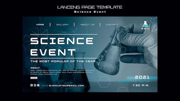 Strona docelowa wydarzenia naukowego