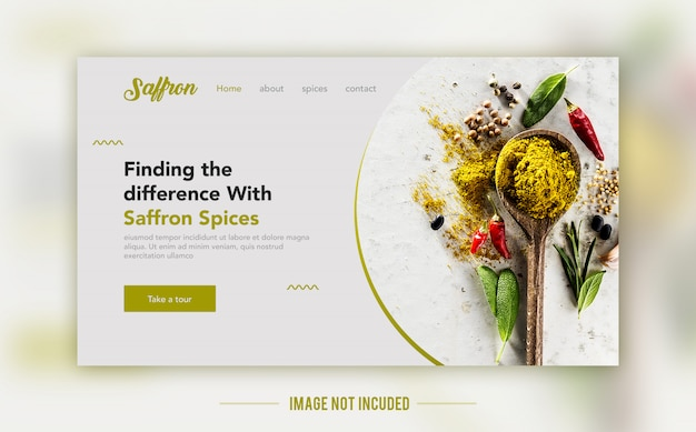 Strona docelowa żywności