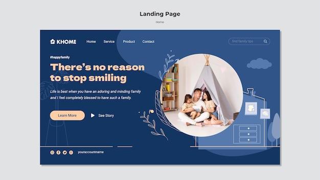 Strona główna landing page