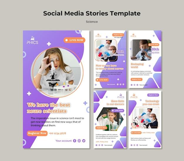 Studiowanie szablonu historii mediów społecznościowych