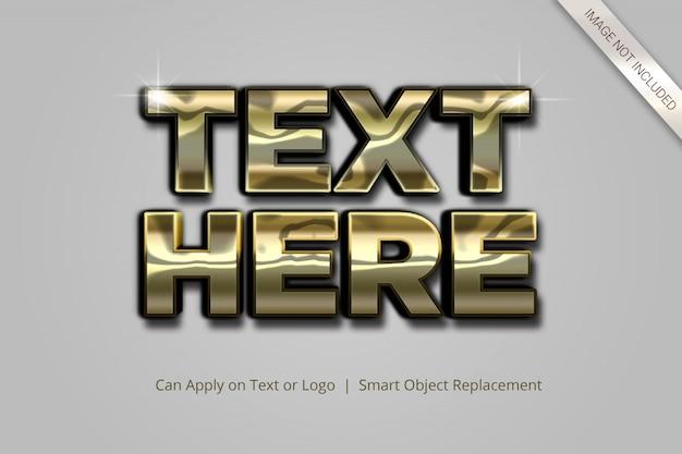 Styl efektu tekstu 3d