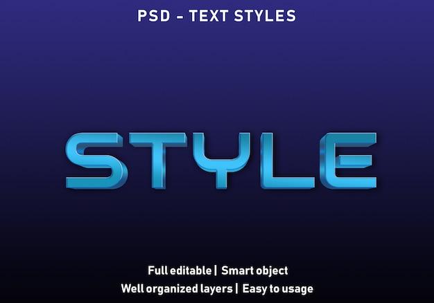 Styl styl efekt tekstu
