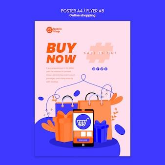 Styl ulotki zakupy online