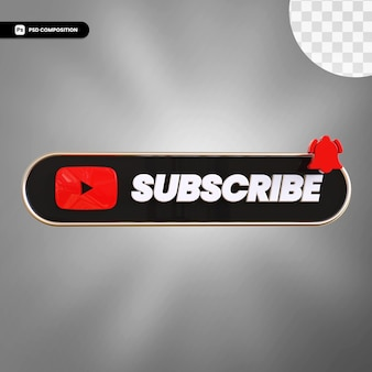 Subskrybuj youtube 3d
