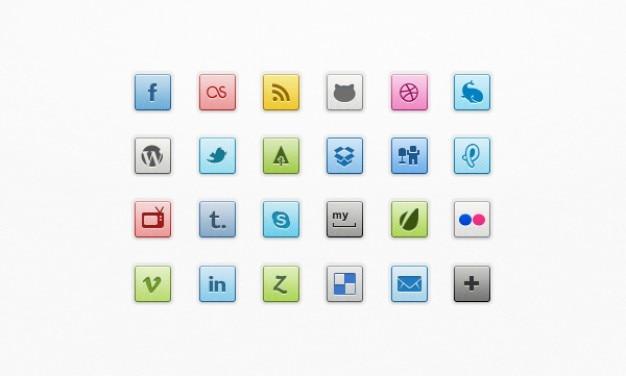 Super social media icons