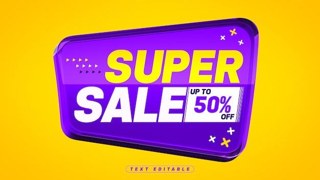 Super sprzedaż fioletowe szkło akrylowe 3d