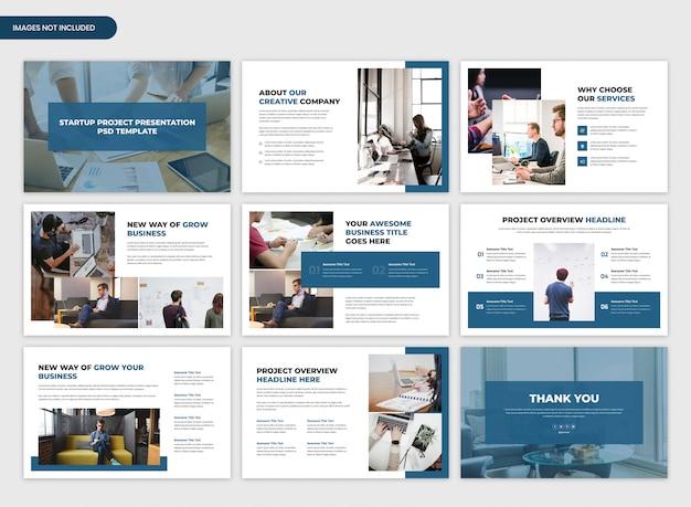Suwaki prezentacji biznesowych i startupowych
