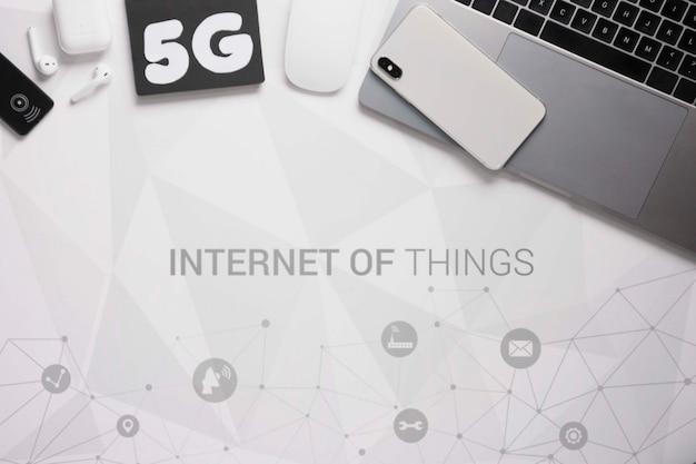Sygnał wi-fi dla połączenia wi-fi 5 g