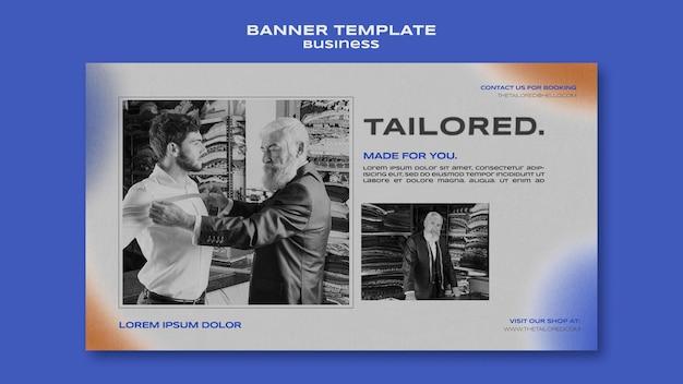 Szablon banera dostosowany do potrzeb klienta