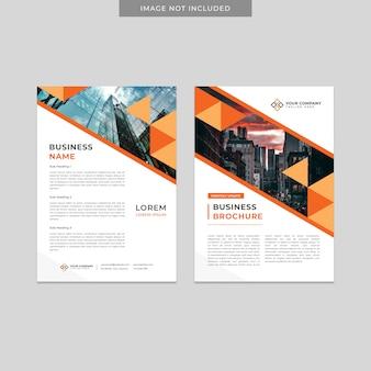 Szablon broszura biznesowa