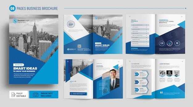 Szablon broszura korporacyjnych