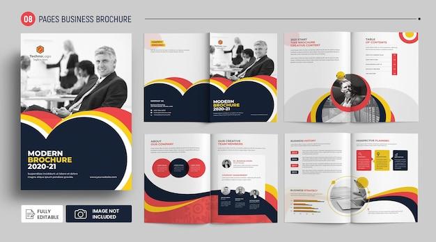 Szablon broszury firmy kreatywnej