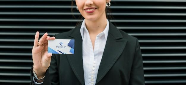Szablon dla firmy tożsamości wizytówki