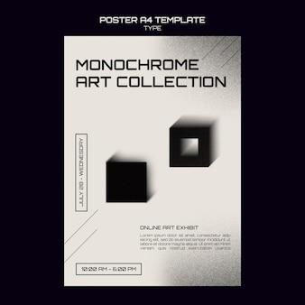 Szablon druku monochromatycznego