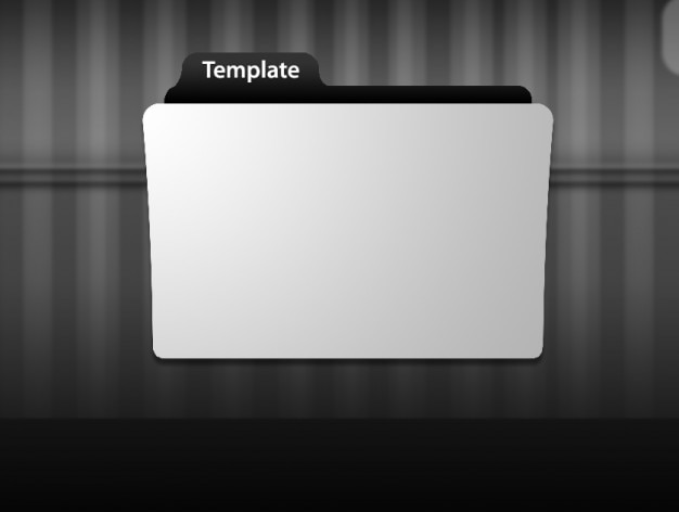 Szablon ikona folderu