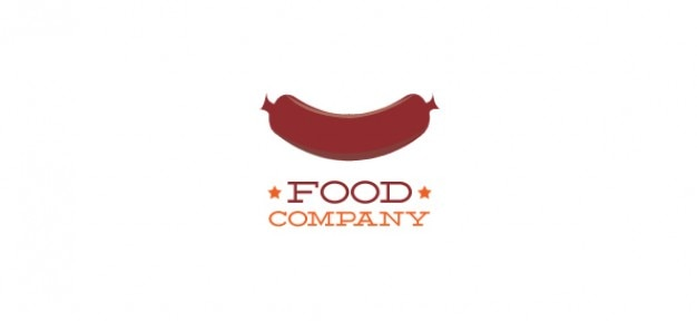 Szablon logo dla żywności i napojów