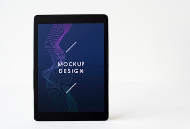 Szablon makieta ekranu tabletu bezprzewodowego