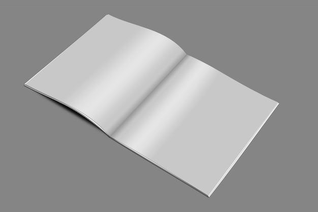 Szablon makieta kwadrat broszura