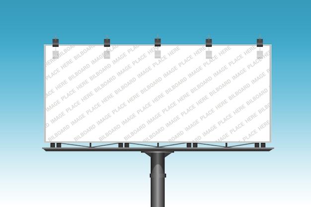 Szablon makiety billboardu