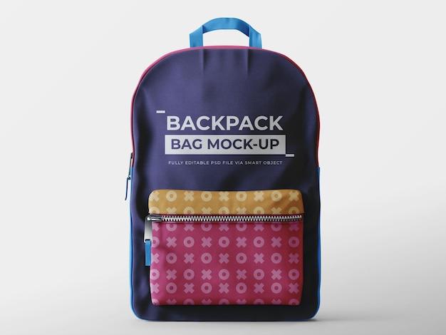 Szablon makiety plecaka