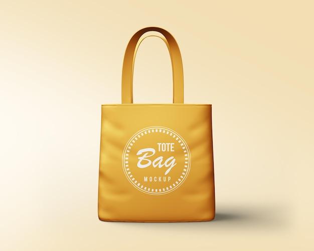 Szablon makiety torby na zakupy